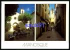 Manosque  -  Multivues  -  La Place St-Sauveur Et La Rue Soubeyran  -  Réf : 18653 - Manosque