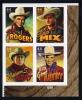 US #4449 Cowboys P# Block Of 4 (4446-4449), MNH (3.60) - Plate Blocks & Sheetlets
