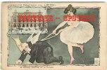 ILLUSTRATEUR FOX  - CURIOSITES PARISIENNES N° 16 L'OPERA - Le Grand Maitre De La Danse - Ange & Harpe - Dos Scané - Illustrators & Photographers