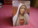 ICONE  LE  SACRE COEUR DE MARIE PRIERE AU VERSO - Devotion Images