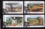 BOP 1988 CTO Stamp(s) National Parks 202-205 #3311 - Holidays & Tourism
