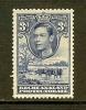 BECHUANALAND 1938 Hinged Stamp(s) George VI 3 D Ultramarin 105 - Bechuanaland (...-1966)