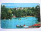 Lago De Chapultepec Mexico Postcard Used 1985 - Mexico