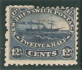 1860-63  12 1/2 Cents Bleu Neuf Sans Charniere - Neu-Brunswick