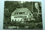 Rhöndorf, A. Rhein Haus Adenauer - Bundeskanzler - Dr. Adenauer - Bad Honnef