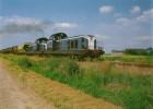 PITHIVIERS LE VIEL (45) SNCF Ligne Pithiviers à Orlèans. Train De Marchandises UM De BB 66000 Le 24 Juin 1993 - Trenes