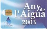 AND-137 TARJETA DE ANDORRA ANY DEL AIGUA - Andorre