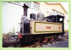 SANTANDER, 1995 : Locomotive Guipuzcoa 030T St Leonard. Photo Pérève - Treni