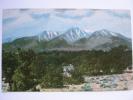 Mount Harvard West Of Salida Colorado CO Postcard - Rocky Mountains