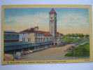 Mt Royal Station Baltimore MD Postcard Linen - Baltimore