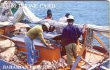 BAHAMAS FISHERMEN 20$ NUMEROTEE VERSO GOLD NUMMER  UT - Bahamas