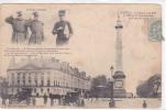 18394 Nantes Salut Militaire- Place Louis XVI -486 GID Lignards Maréchal Commandant Corps Armée