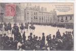 18409 Inventaires Nantes  Devant Cathédrale Capitaine Gerbois Gendarmes Refoule Manifestant. 1 Vasselier . Chevaux