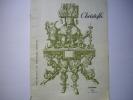 - Orfêvrerie - Christofle - Extrait Du Catalogue Général 602 - Tarifs Et Photos - Novembre 1961 - - Interieurdecoratie