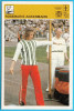 ROSEMARIE ACKERMANN Athletics High Jump Germany ( Yugoslavia Card Svijet Sporta) Saut En Haute Athletisme Leichtathletik - Leichtathletik
