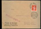 1943 D. Reich, Sudetenland. EF. Geschäftspapiere Reichenberg/Gröditz, Bei Riesa. MK - Germany