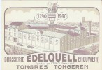 TONGEREN - BRASSERIE EDELQUELL BROUWERIJ - Zonder Classificatie