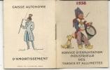 CARNET PUB TABAC ET ALLUMETTES . CALENDRIER - Publicités