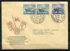 Germany Berlin  1955 Cover  FDC Sent To USA  (Sonderbriefmarke) - [5] Berlin