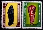 Lot 2 Timbres COSTUMES Comores : Bouiboui Et Chiromani - Isole Comore (1975-...)