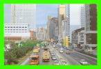 HONG KONG, CHINA - A TYPICAL STREETSCENE - ANIMATED TRUCKS & CARS - THE LUX CO - - Chine (Hong Kong)