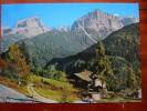 Madonna Di Campiglio Gruppo Di Brenta Panorama From The Road Italy Postcard - Italy