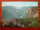 Valle Del Sarca Vista Dalla Pagnella 2125m Italy Postcard - Italy