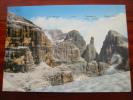 Dolomiti Di Brenta Veduta Dalla Sella Della Toso 2860m Italy Postcard - Italy