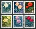 1984 Cina China Fiori Flowers Fleurs Michel 1927/32 Set MNH** 57- - 1949 - ... Repubblica Popolare
