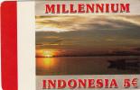 GREECE - Indonesia, Millennium, Amimex Prepaid Card 5 Euro, Used - Greece