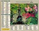 ALMANACH DES PTT  2001 RHONE - Calendars