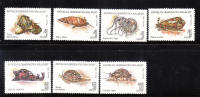 Malagasy Republic 1993 Mollusks Marine Life MNH - Madagascar (1960-...)