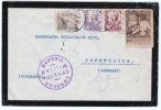 España 1937. Carta De Bilbao A Copenague. Censura. - Marcas De Censura Nacional