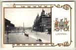 Liverpool - Lime Street - Postcard 1908 - Liverpool