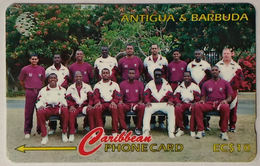 Antigua And Barbuda - 1996 West Indies Cricket Team - 231CATA LK89 - Antigua And Barbuda
