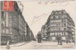 PARIS LA RUE CLAUDE-BERNARD ANIMEE TRAMWAY 75005 - Arrondissement: 05