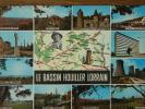 57 - Bassin HOUILLER LORRAIN - Creutzwald - Forbach - Merlebach - Carling - Merlebach - Farebersviller - St-Avold... - Francia
