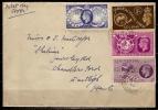 Great Britain 1949  UPU  FDC - FDC