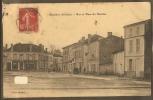 33-ETAULIERS---Rue Et Place Du Marché--animée--commerces-- - Frankreich