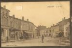 33-ETAULIERS--Grande Rue---commerces--attelage---animée--- - Autres Communes