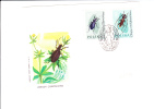 26/119  LETTRE  POLOGNE - Insects