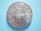 5 Lires 1879 Argent Umberto I Roi D'Italie . Silver . Atelier R - 1861-1946 : Kingdom