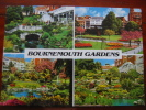 Bournemouth Gardens Dorset Multi View Used 1999 Postcard - Bournemouth (depuis 1972)