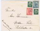 Deutschland Brief  Mit Briefmarken Von  Deutsche Und Tschechoslowakei Teplitz -> Witten Ruhr, 1938, Misch Frankatur
