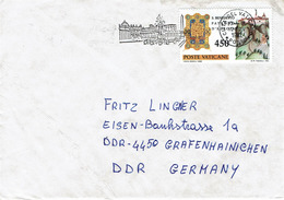 Vatican - Umschlag Echt Gelaufen / Cover Used (T353) - Lettres & Documents