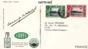 Carte Postale Publicitaire IONYL   -  SIERRA LEONE  CAMELEON 1953 - Sierra Leone (1961-...)