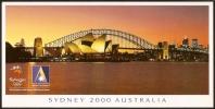 AUSTRALIA - ANSETT AUSTRALIA OFFICIAL AIRLINE OF THE SYDNEY 2000 OLYMPIC GAMES - SET OF 6 POSTCARDS - Aviation