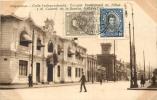 VALPARAISO CALLE INDEPENDENCIA ESCUELA PROFESIONAL DE NINAS Y EL CUARTEL DE LA BOMBA - Chili