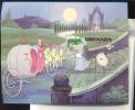 GRENADA   1072 MINT NEVER HINGED SOUVENIR SHEET OF DISNEY ; CINDERELLA  ; CHRISTMAS 1981  #  224  ( - Disney