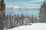 B32539 Winter At Lake Tahoe  Used Good Shape - Etats-Unis